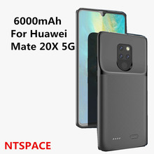 NTSPACE Ultra Slim 6000mAh  Battery Power Bank Charger Cases For Huawei Mate 20X 5G External Battery Power Bank  Pack Case