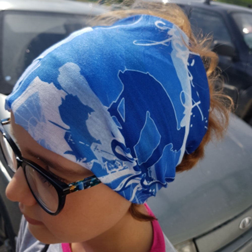 Summer Cycling Headwear Anti sweat Breathable Cycling Caps Running Bicycle Bandana Sports Scarf Face Mask Men Ciclismo Bandana