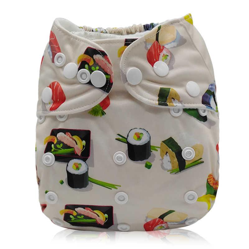 아기 포켓 천 기저귀 기저귀 재사용 가능한 조절 가능한 빨 수있는 Mcrofleece 내부 3kg-15kg