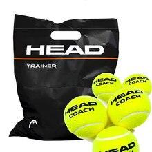 3/6/12 adet orijinal kafa Tenis topu Tenis eğitim topları Tenis topu Tenis antrenör topları eğitmen Pelotas Tennisballs yün kauçuk