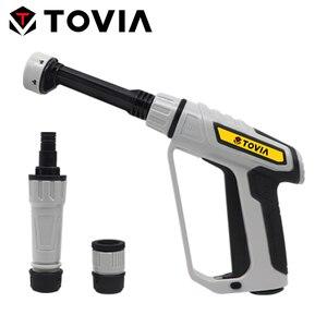 Мощный пистолет для мытья автомобиля высокого давления, садовая очистка, полив, распылитель, полив, распылитель для садового шланга, 6 режим...