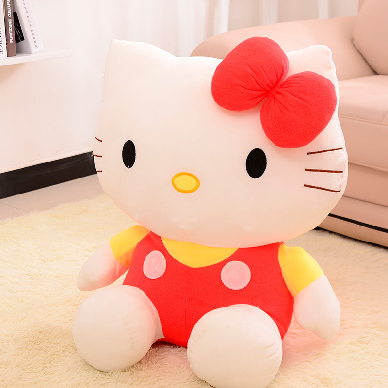 20/25cm Cute Hello Kitty Cat Plush Toy Lovely Stuffed Animal Doll Pillow Kids Toy Girlfriend Baby Birthday Gift Good Quality KT