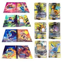 Cartoon Anime 240 Pcs Houder Album Speelgoed Collection Game Pokemones Kaarten Album Boek Top voor Kids Gift