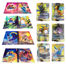 Book-Top Album-Toy Collection-Game Pokemones-Cards Anime 240pcs-Holder Kids Cartoon