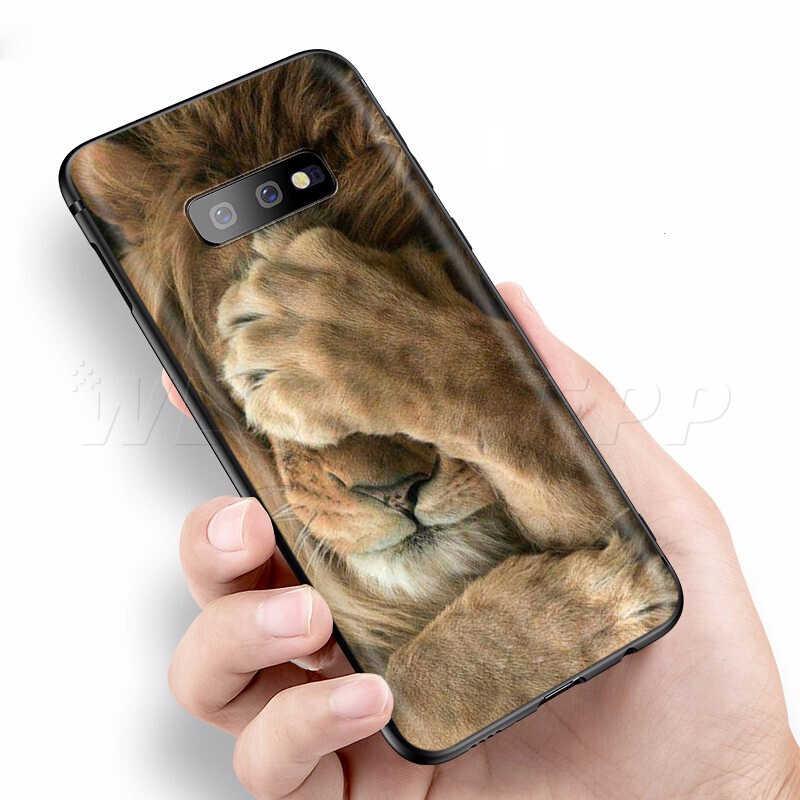 Webbedepp moda tygrys Leopard etui do Samsung Galaxy S7 S8 S9 S10 Plus krawędzi uwaga 10 8 9 A10 A20 A30 A40 A50 A60 A70