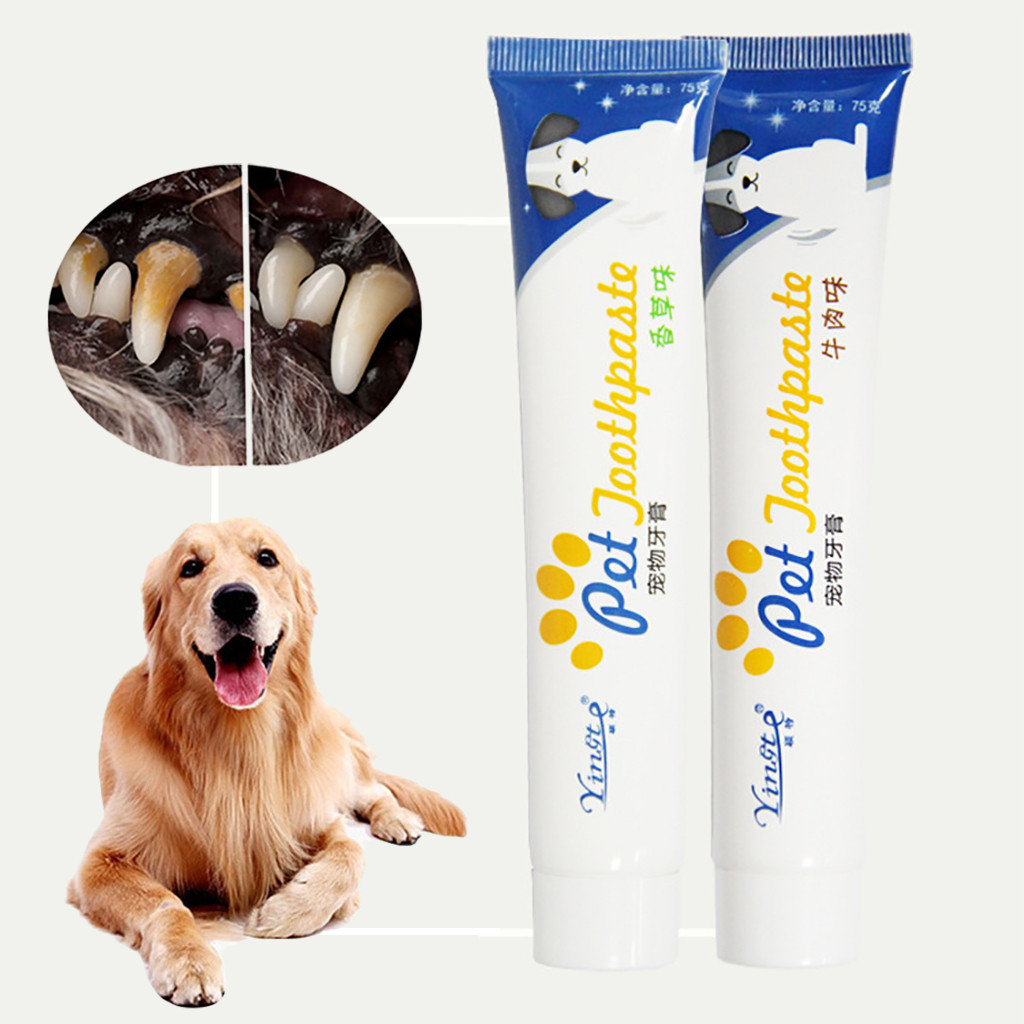 Pet Grooming Toothbrush Dog Cat Tartar Tooth Cleaning Kit Healthy Teeth Helps Reduce Tartar And Plaque New Dropshipping*5