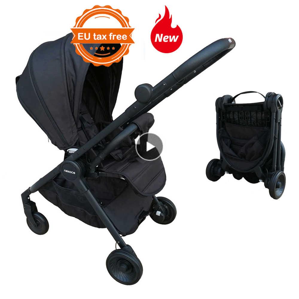 Assento Reversível Carrinho de Bebé Carrinho de bebê Carrinho De Bebê De Viagens Portátil Certificado CE
