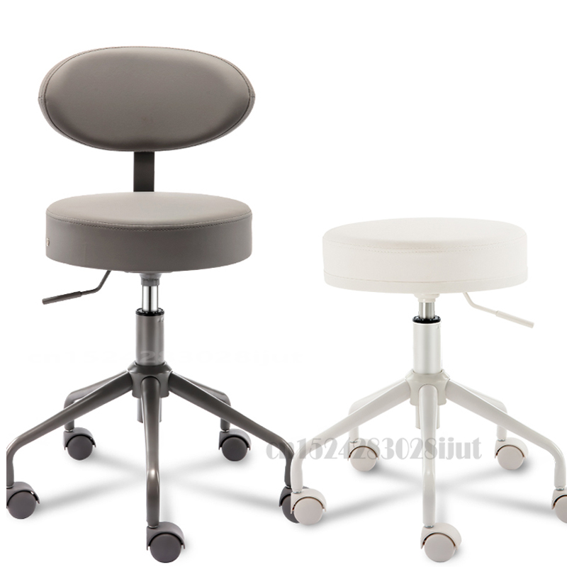 Beauty and Hairdressing Revolving Chair Operating Stool Laboratory Stool Bar Backrest Lifting Stool Tattoo Chair Salon Chairs