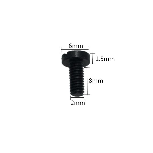 DTTRA 8pcs Needle Clamp Set Screw Thumb//Foot Screw for Single Needle Industrial Sewing Machines.