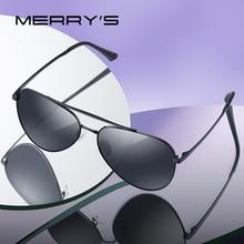 MERRYS DESIGN Men Classic Pilot gafas de sol HD polarizadas gafas de sol para conducir, para pescar gafas para hombres mujeres protección UV400 S8134