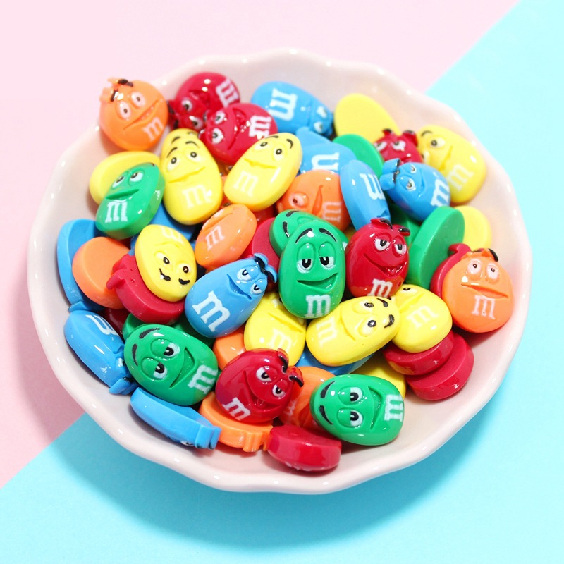 Interesting M Bean Addition Slime Charms For Slime Supplies Filler DIY Polymer Accessories Toy Lizun Model Tool For Kids Toys E