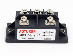 AOTUKER Bridge Reactor MDS100-16 Three-phase Rectifier Module 100A 1600V S Type MDS100A