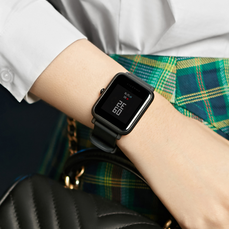 Global Version Amazfit Bip Lite Huami Smart Watch 1.28inch Dispaly Waterproof 45 days Battery Life Heart Rate Sleep
