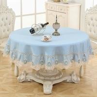 European Round Table Cloth Art Pattern Table Cloth High Quality 180cm Tablecloth