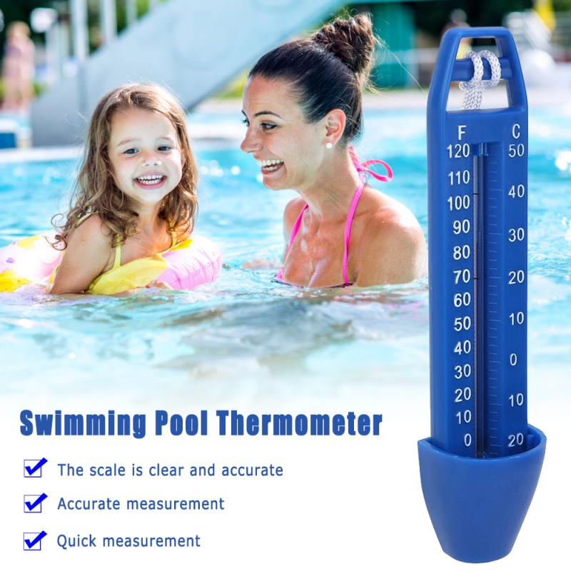 1pcs Pool Thermometer Easy Read Pool Thermometer Water Floating Temperature For Swimming Pools Spas Fish Aquarium High Quality Parts Accessories Aliexpress