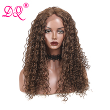 DQ Curly Synthetic Lace Front Wig 22