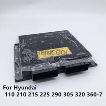 Dla Hyundai 110 210 215 225 290 305 320 360-7 komputer pokładowy sterownik płyty głównej koparka wysokiej jakości akcesoria bezpłatna wysyłka tanie tanio ALLBBIN CN (pochodzenie) excavator Accessories 0 2kg 10cm alloy