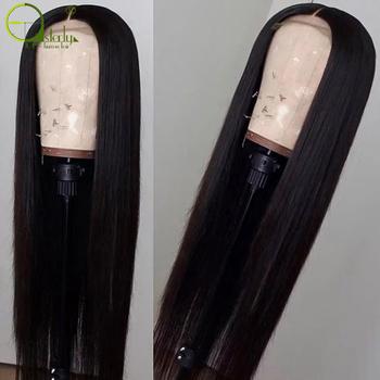 Sterly 4 #215 4 koronka zamknięcie peruka brazylijski koronki przodu włosów ludzkich peruk dla czarnych kobiet Remy włosy prosto koronki przodu peruka z baby włosy brazylijskich dziewiczych tanie i dobre opinie Długi Proste Ludzki włos Swiss koronki 1 sztuka tylko Średni brąz Średnia wielkość