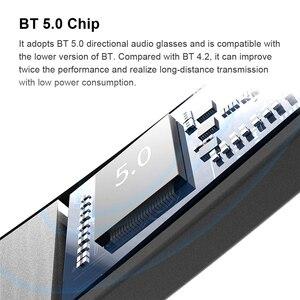 Image 2 - A3 2 ב 1 משקפי חכמים אלחוטי Bluetooth אוזניות BT5.0 מוסיקה משקפיים חיצוני רכיבה על אופניים משקפי שמש ספורט אוזניות עם מיקרופון