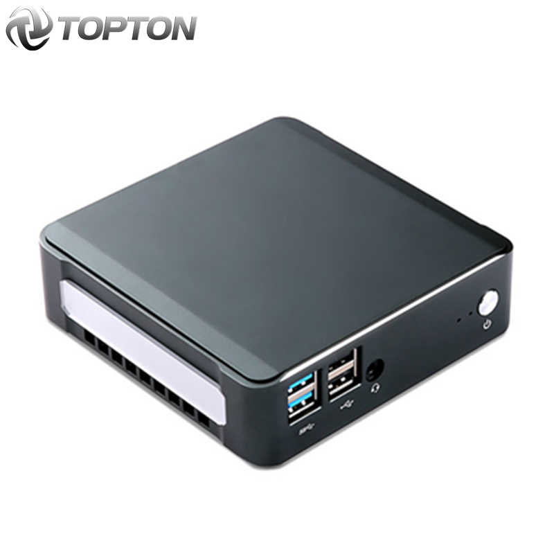 Mini PC Windows 10 Intel I7 10510U I5 10210U I3 8145U 2 * DDR4 M.2 Nuc Komputer Portabel Sistem PC unit Tipe-C 4K 60Hz HDMI2.0 DP