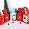 Christmas Decoration Gift Box Merry Christmas Candy Box Navidad New Year 2020 Gift Bag for home Christmas Ball Natal Xmas Wooden 1