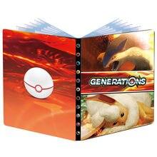 Nowy 240 sztuk Album Pokemon karty książka Cartoon Firebeast TAKARA TOMY Anime gra karciana VMAX kolekcja Holder Folder zabawki dla dzieci prezent