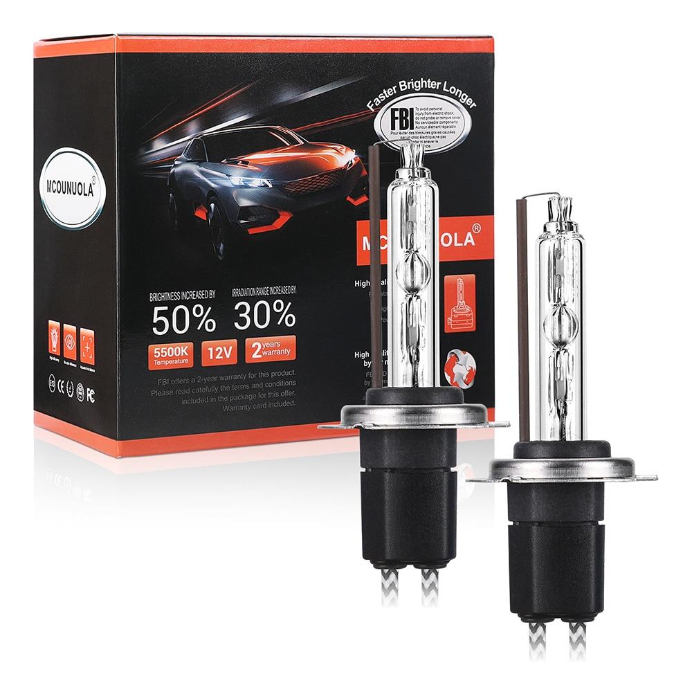 2PCS NEW OEM 55W H1 H3 H11 H7 9006 9005 H4 9012 Xenon HID Bulb 4300K 4500K 5000K 5500K 6000K 8000K HID Xenon Lamp Xenon Bulb