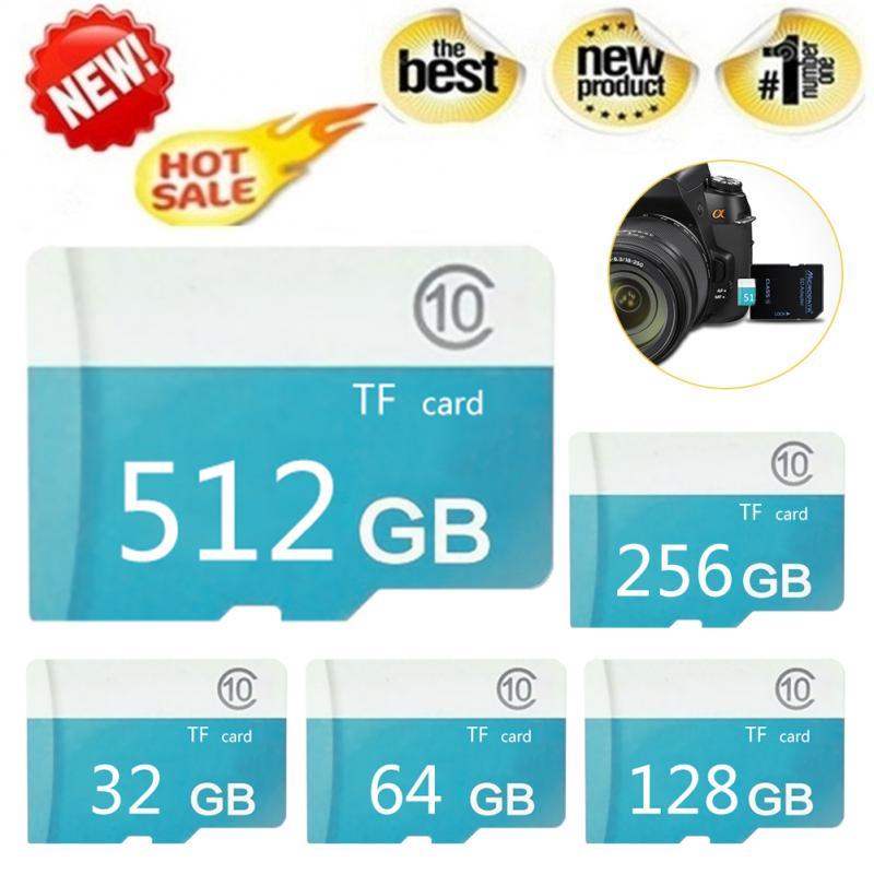 Карта памяти Micro TF 1 шт., класс 10, 1 ГБ, 2 ГБ, 4 Гб, 256 ГБ, 512 ГБ, флеш-накопитель, карта памяти Micro SD для смартфона, ноутбука, адаптер