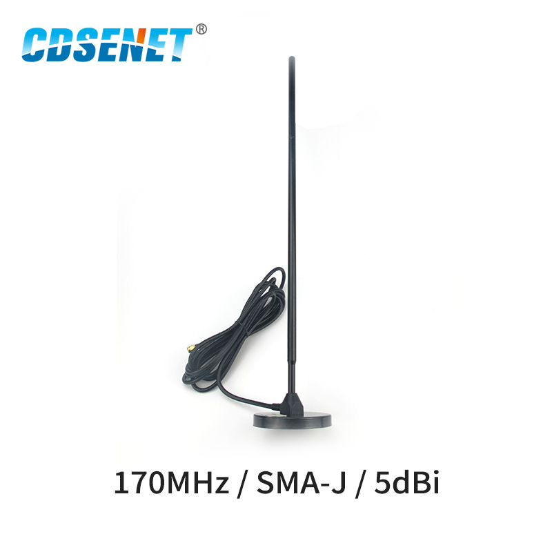 170MHz Wifi Antenna SMA-J High Gain 5dbi Magnetic Base 3m Feeder External Cable Sucker Omnidirectional Wifi Antenna Aerial