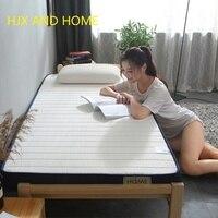 9cm und 5cm natürliche Thai latex matratze Einzigen doppel größe Memory schaum füllung stereoskopischen student schlafsaal Tatami-in Matratzen aus Möbel bei