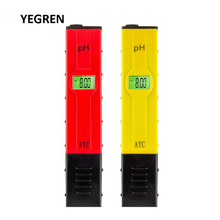 цена на 0-14.00 pH Digital PH Meter ATC Water Quality Measuring Pen with Backlight Aquarium Water PH Tester Water Analyzer