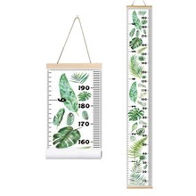 Nordic Style Baby Child Kids Height Ruler Growth Size Chart Measure for Room Home Decoration Art Ornament