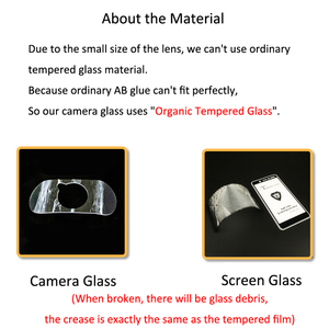 """Image 5 - עבור סמסונג גלקסי A80/A90 6.7 """"Ultra Slim חזרה מצלמה עדשת מגן אחורי מצלמה עדשת כיסוי מזג זכוכית הגנת סרט"""