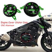 Dla Kawasaki Z1000 Z1000sx Z1000R 2010 2018 motocykl CNC osłona silnika obudowa stojana Crash suwak osłona osłony Z 1000 SX /R