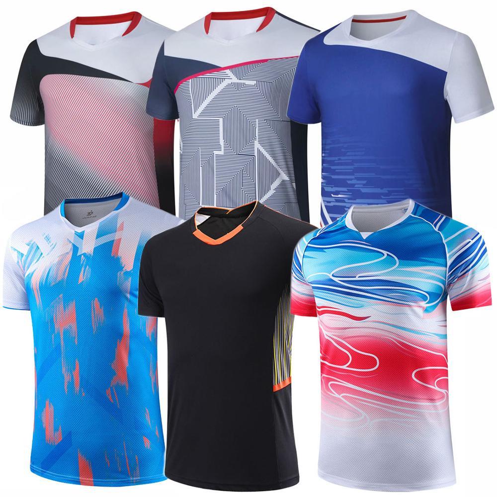 New 2020 Badminton Shirts Men Women , Sport Shirt Tennis Shirts Girls , Table Tennis Tshirt , Quick Dry Sports Training Tshirts