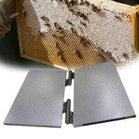 밀랍 기초 프레스 금형 양봉 기초 시트 엠보싱 금형 기계 프린터 셀 크기 5.3mm 또는 4.9mm Machin Pre