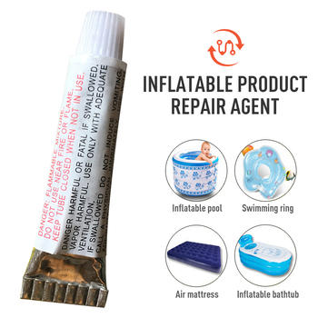 PVC Adhesive Inflatable Boat Repair Glue Puncture Repair Patch Glue Repair Kit Kayak Patches Glue Swimming Pool Accessories Tool image