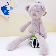 Stroller Toy Baby Crib Mobile Plush Infant Soft 12-Months Bed Kid 0 Cute Doll Bear