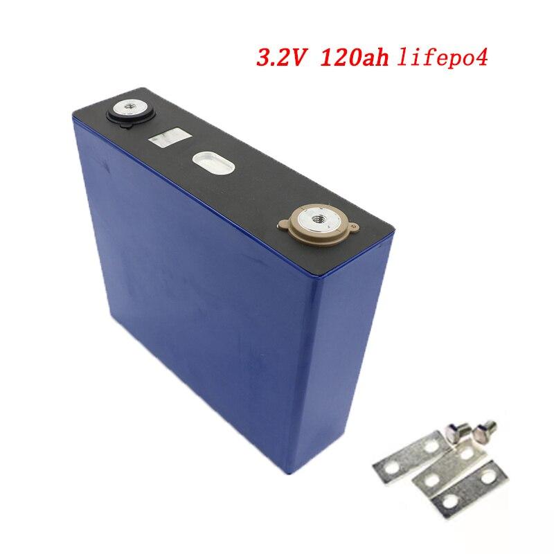 9644.83руб. 8% СКИДКА|Lifepo4 3,2 v 120Ah литиевая батарея, литий железо фосфатная батарея глубокого цикла для diy 24v 12V 200Ah хранение солнечной энергии|Подзаряжаемые батареи| |  - AliExpress