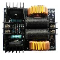 1000 w 20a zvs tesla bobina de energia baixa tensão placa aquecimento por indução módulo flyback driver aquecedor nova unidade elétrica placa do módulo|Aquecedores de indução magnética|   -