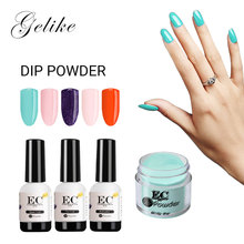 Natural Color Powder Nails Dip Manicure Starter Kit Mirror Gel Varnish No Uv Light 10G Dip System Acrylic Dropshipping sg6105dz dip 20