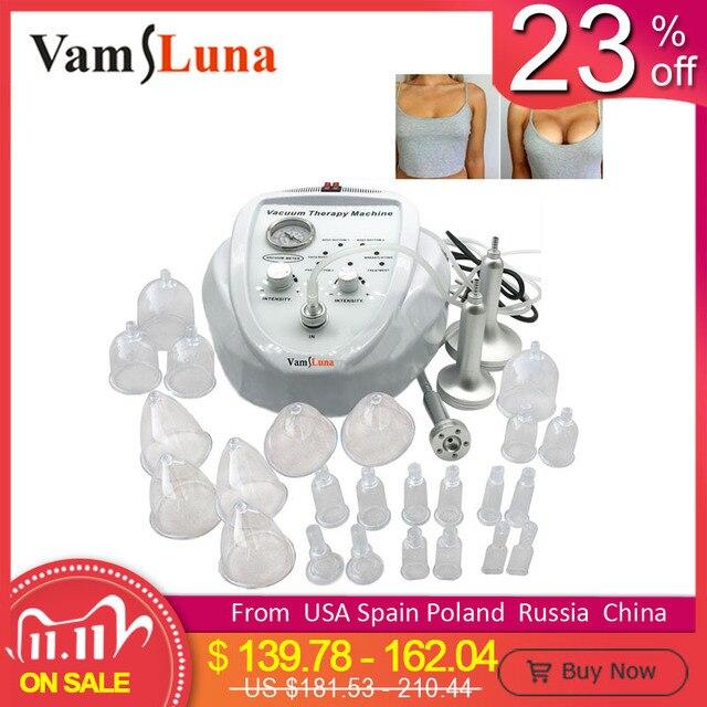 Máquina do tratamento do vácuo para a drenagem linfática do emagrecimento, realce da ampliação do massager do peito da mama & levantamento da extremidadeMama Massagem Instrumento