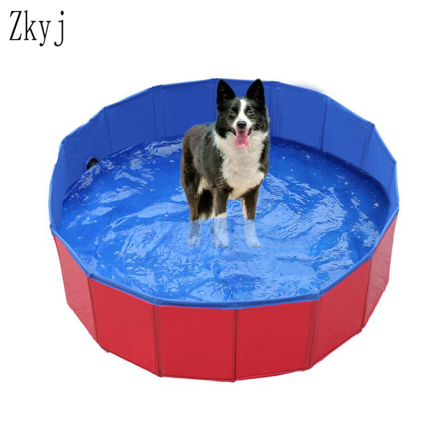 Foldable Padded Puppy Pool For Hot Summer Days  1