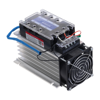 FDR3-D4840Z Three Phase Solid State Relay AC480V 40A DC control AC Solid State Relay SSR AC Three DC-AC With Fan and Radiator