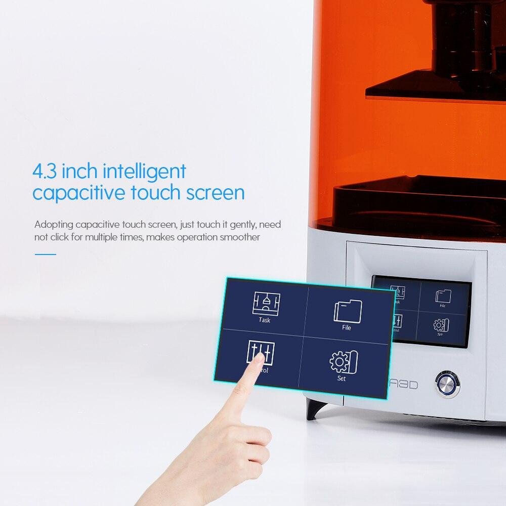NOVA3D ELFIN Günstige Harz 3D Drucker Permanent Nivellierung Design Unterstützung 405nm Harz UV SLA 3D Drucker Licht-Aushärtung Impresora