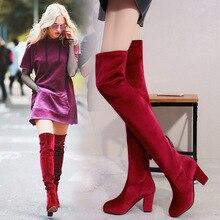 Women Boots Autumn Winter Ladies Fashion Flat Bottom