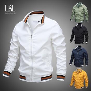 Moda de hombre chaquetas y abrigos chaquetas y cazadoras de los nuevos hombres de chaqueta Bomber cortavientos de Otoño de 2020 hombres del ejército de carga al aire libre ropa Casual Streetwear 1