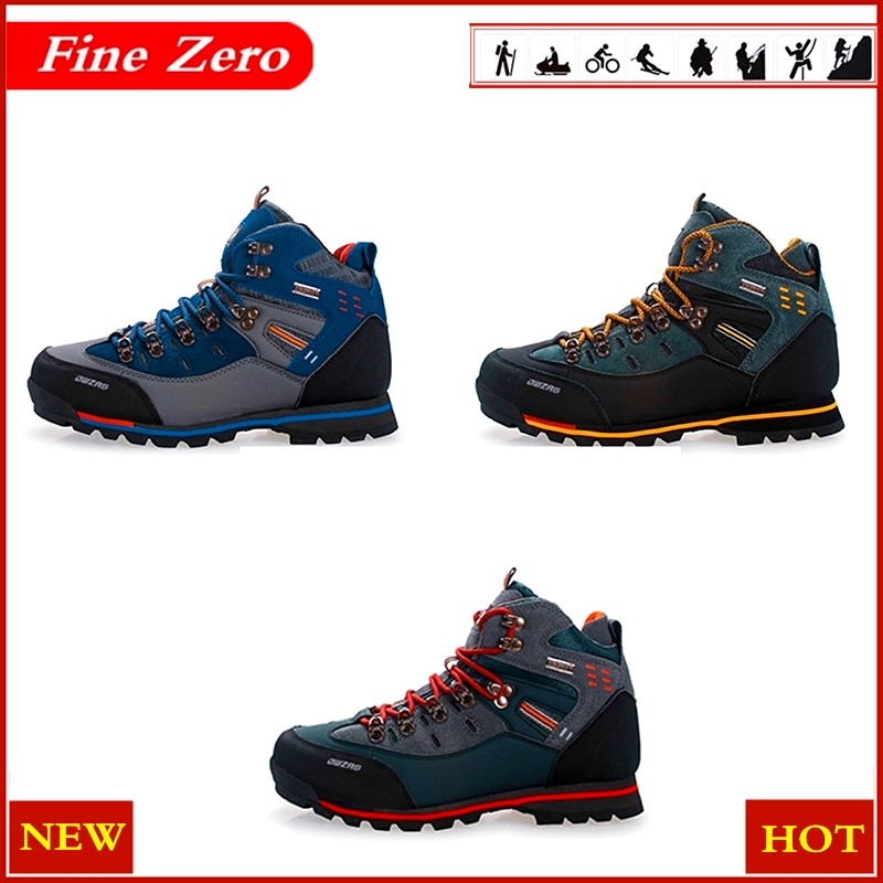 New Men's Boots Male Rubber Combat Ankle Work Safety Shoes Size 39-46 Autumn Winter Snow Boots Men Sneakers Outdoor Sports Shoes