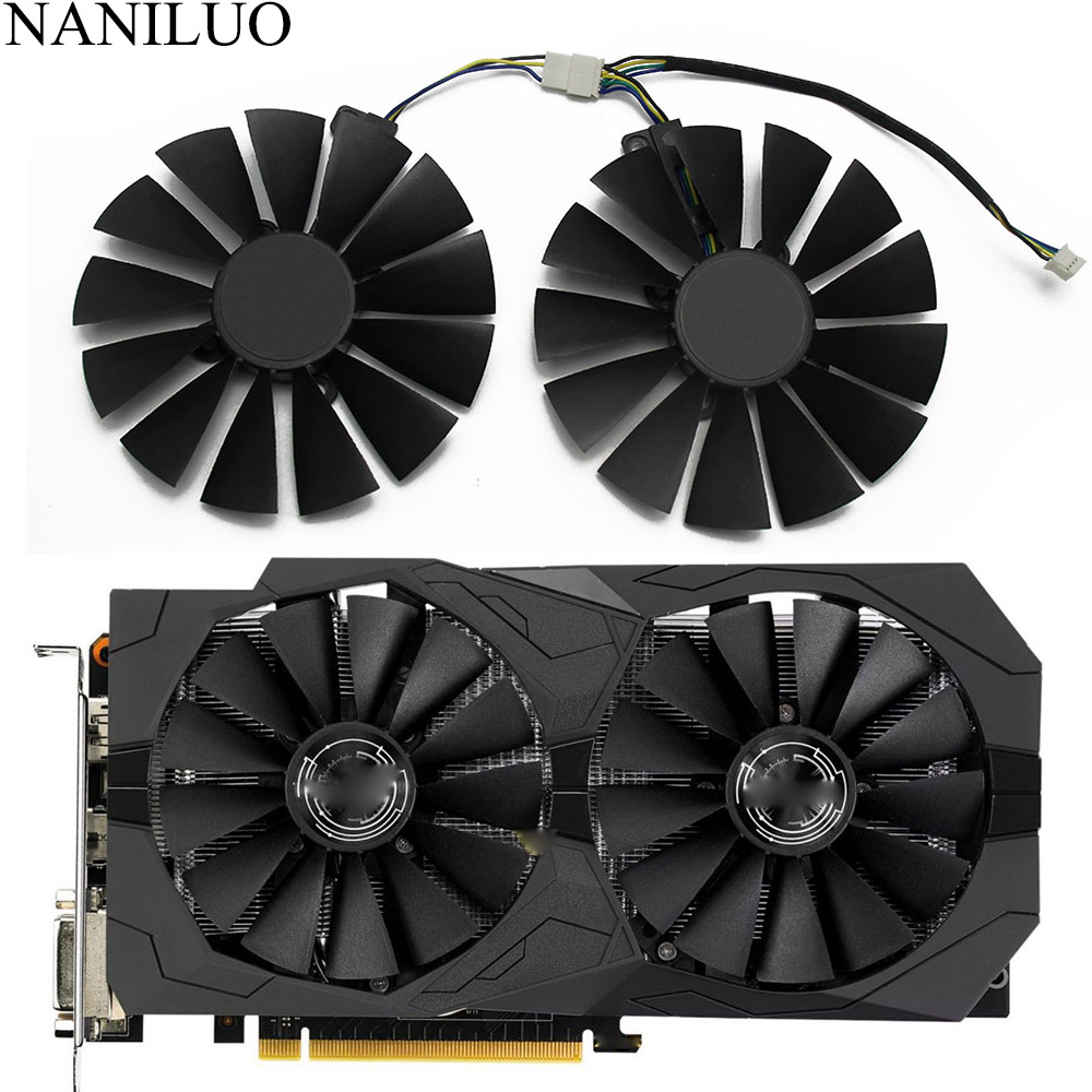 95MM FDC10M12D9-C DC12V 0.25AMP 4Pin 12V GTX <font><b>1050</b></font> Ti Cooler Fan for ASUS <font><b>GTX1050</b></font> 1050Ti ROG STRIX OC Graphics Card Cooling Fan image