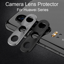 Camera Lens Protector For Huawei P20 P30 Lite Nova 5T Honor 20 Pro Case Metal Mobile Phone Lens Protective Ring Cover P30Lite